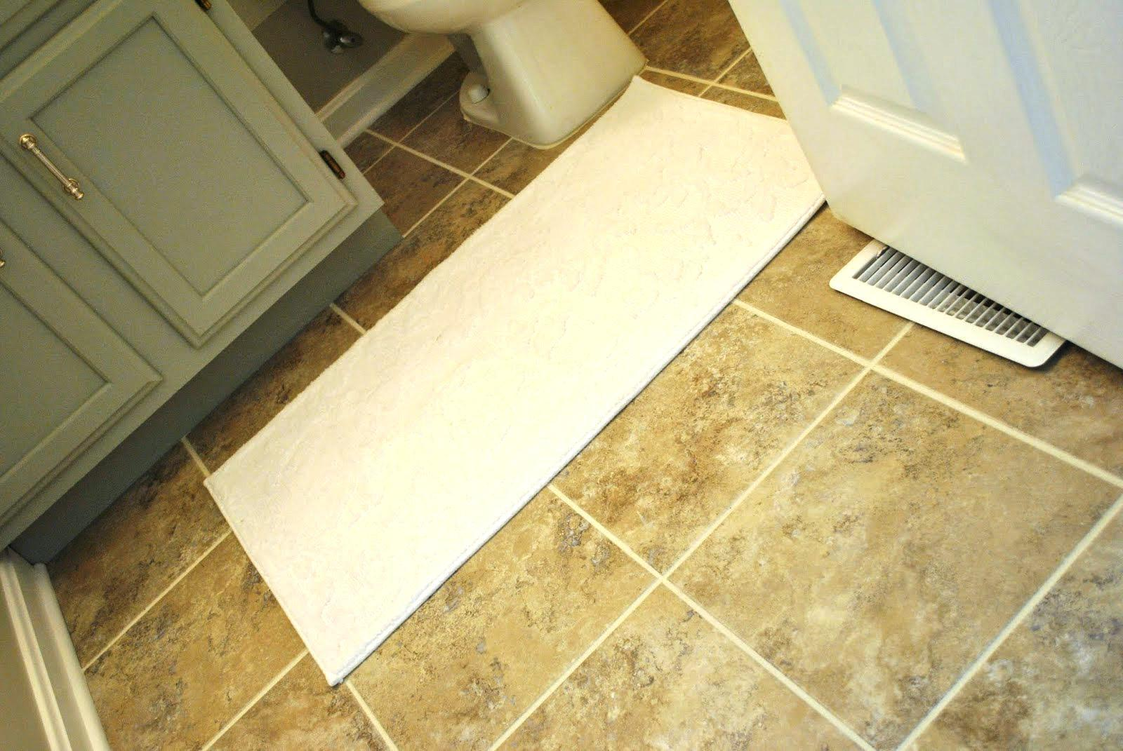 Image of: Grouted Peel And Stick Floor Tiles