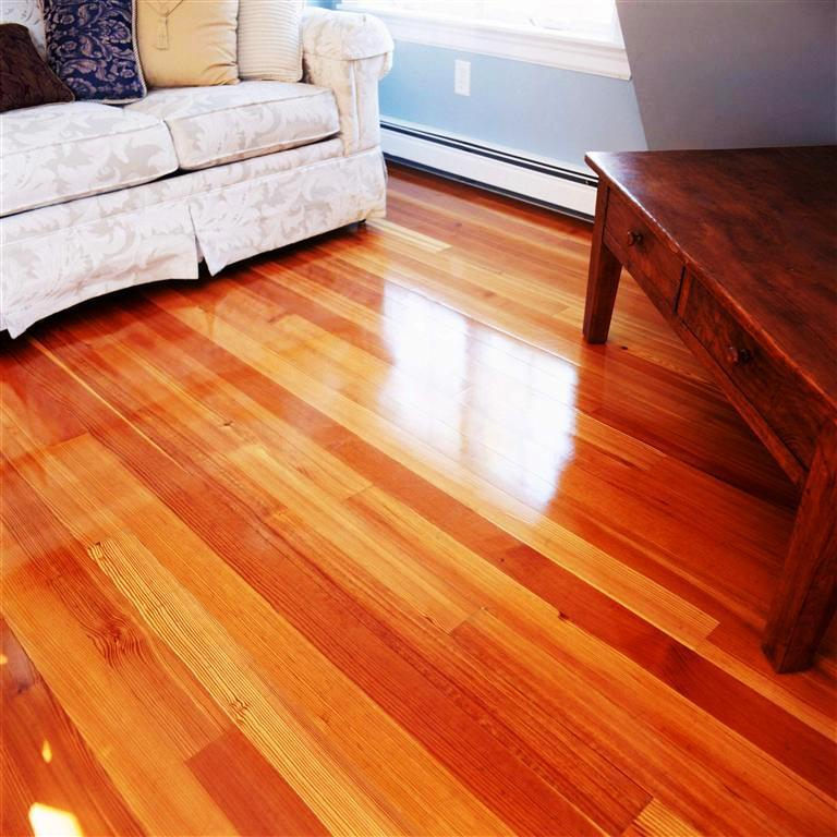 Image of: Heart Pine Flooring Hardness