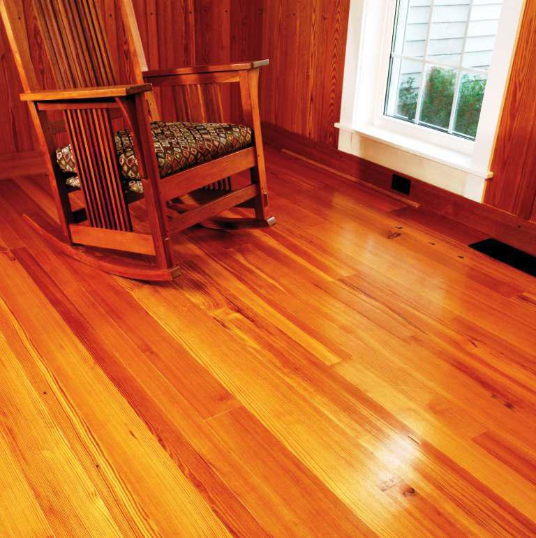 Image of: Heart Pine Flooring Pros And Cons