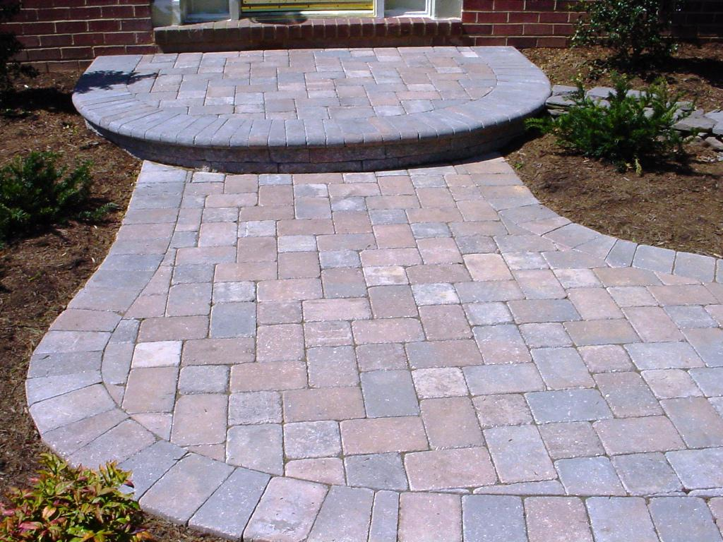 Image of: Interlocking Patio Pavers