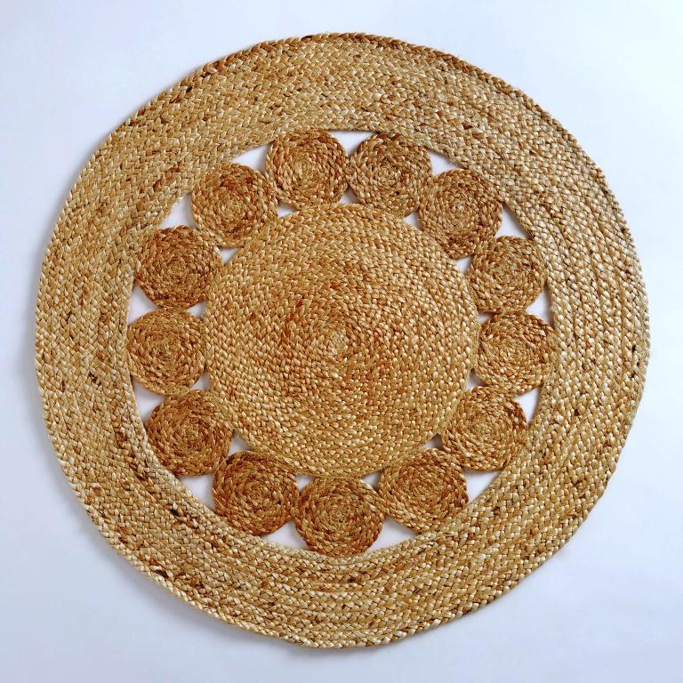 Image of: Jute Round Rugs