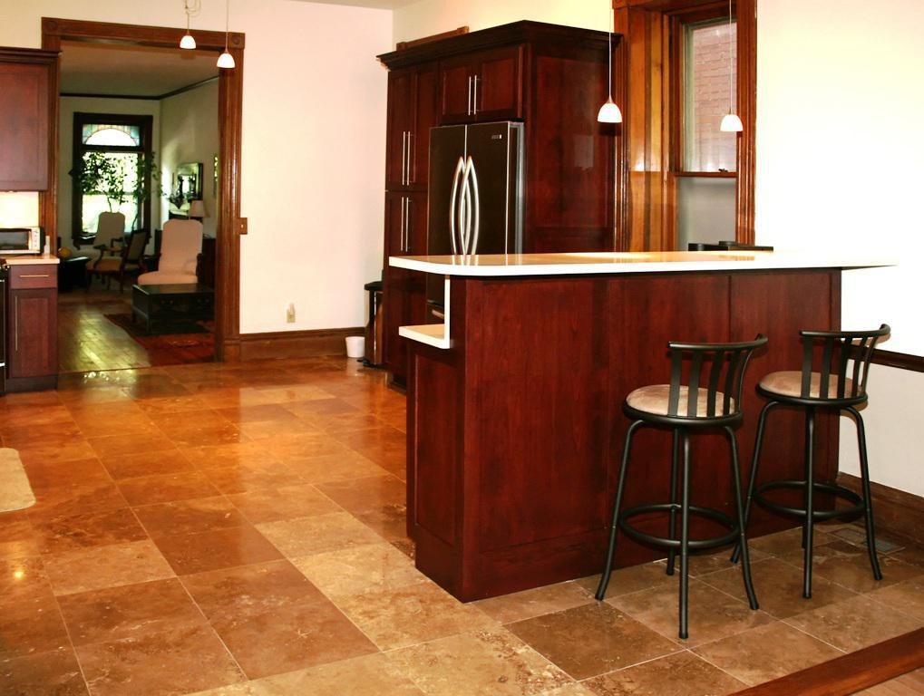 Image of: Kitchen Floor Tile Patterns