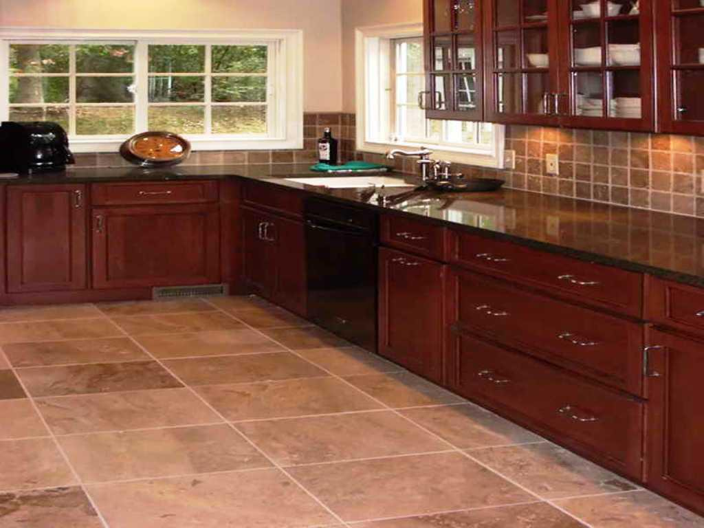 Image of: Kitchen Floor Tiles Ideas