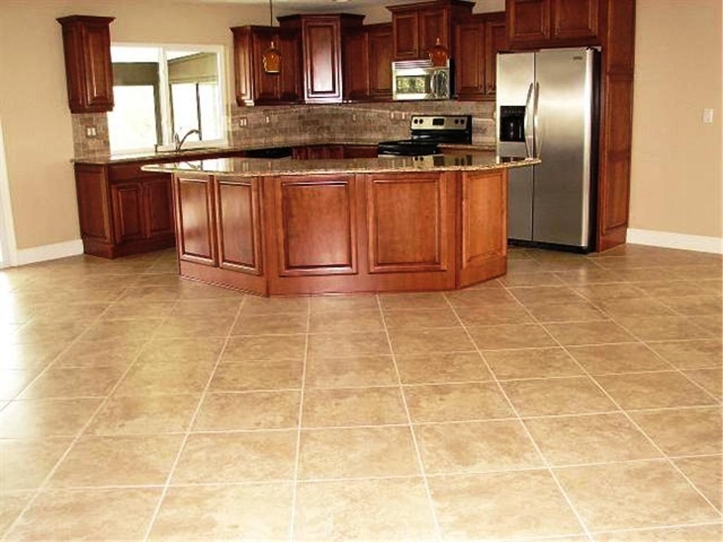 Image of: Kitchen Flooring Ideas
