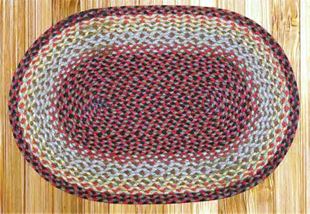 Image of: LL Bean Braided Rug