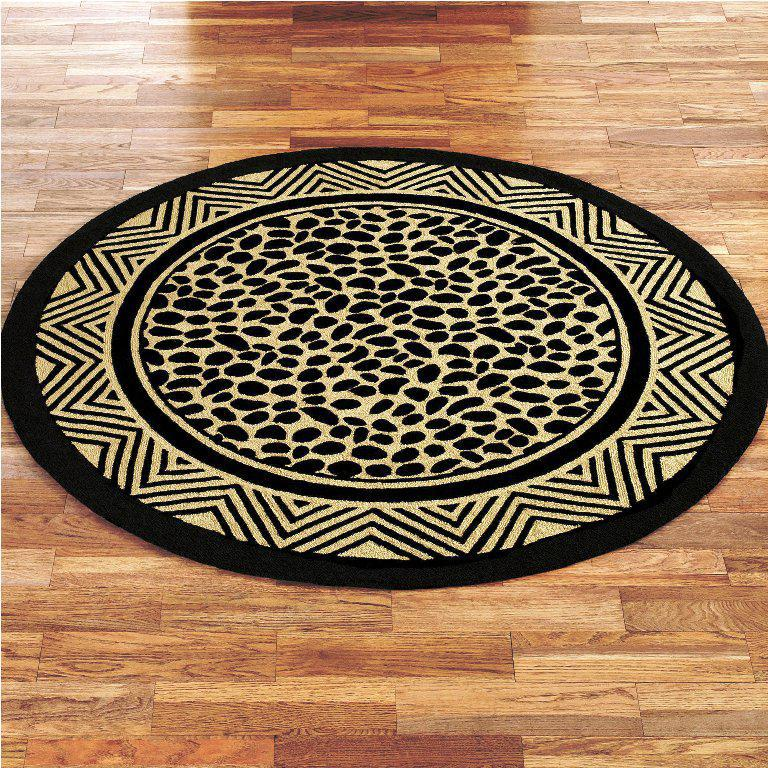 Image of: Leopard Print Area Rug