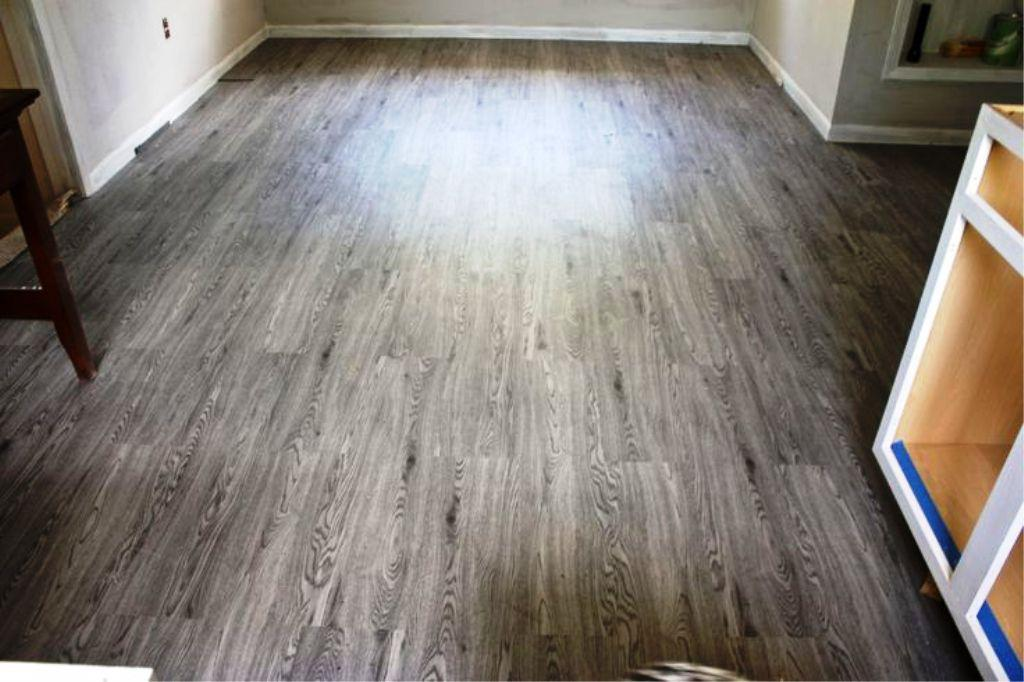 Image of: Linoleum Flooring at Home Depot