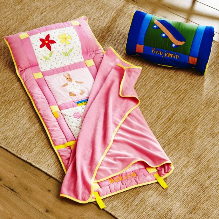 Image of: Nap Mats with Blanket and Pillow