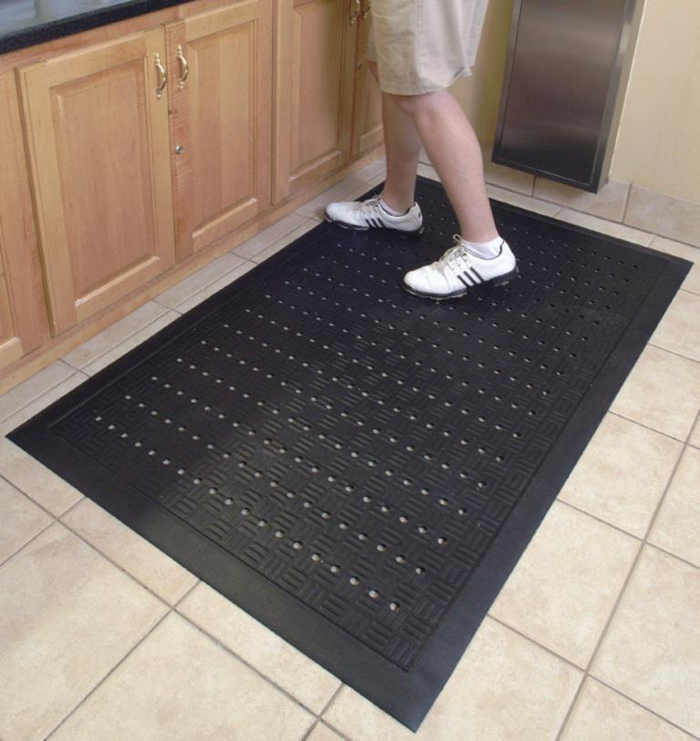 Image of: Padded Kitchen Floor Mats