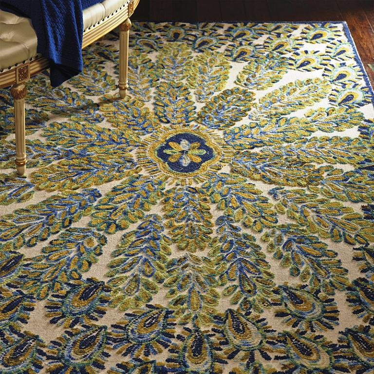 Image of: Peacock Rugs