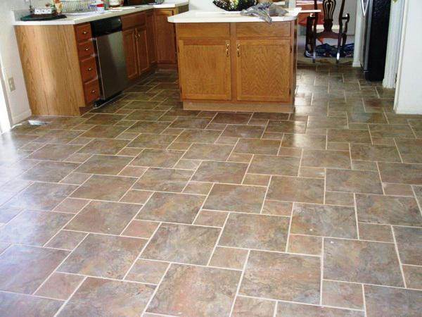 Image of: Peel and Stick Floor Tile Lowes