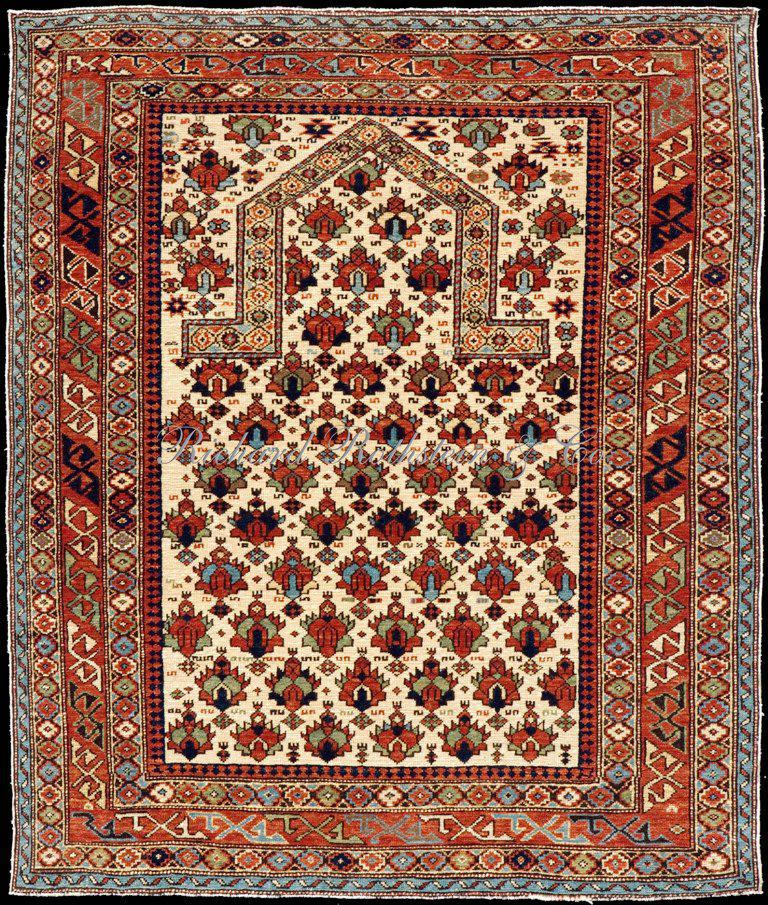 Image of: Persian Prayer Rug