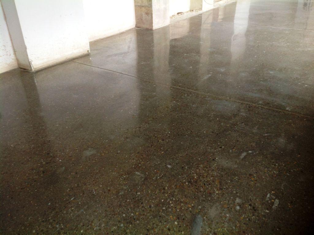 Image of: Polished Concrete Floors DIY