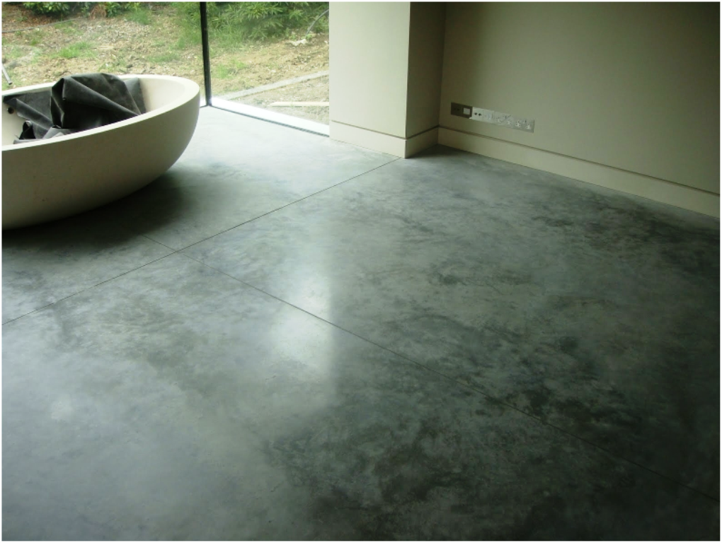 Image of: Polished Concrete Floors In Homes