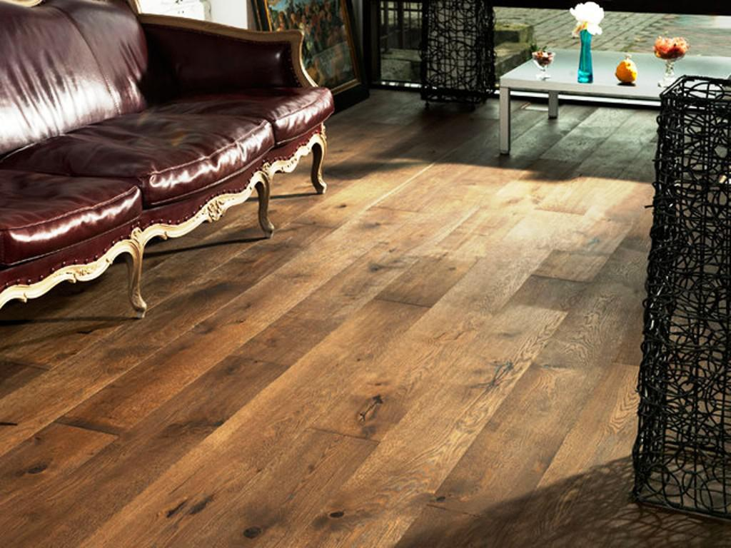 Image of: Prefinished Wide Plank Flooring