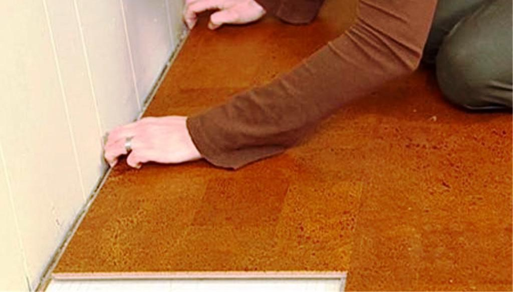 Image of: Problems With Cork Flooring