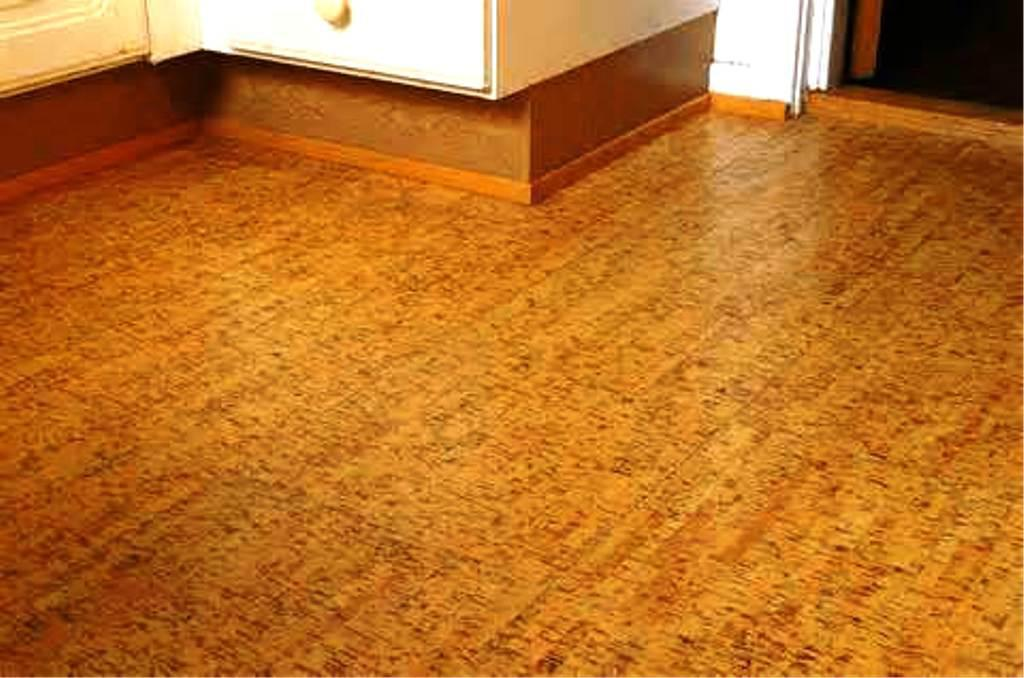 Image of: Refinishing Cork Floors