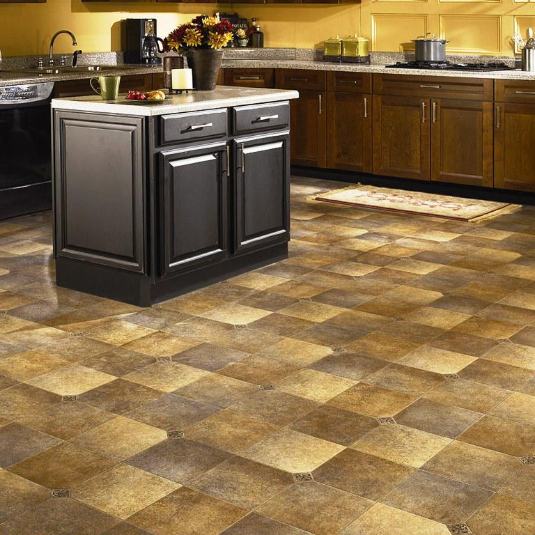 Image of: Resilient Flooring Home Depot