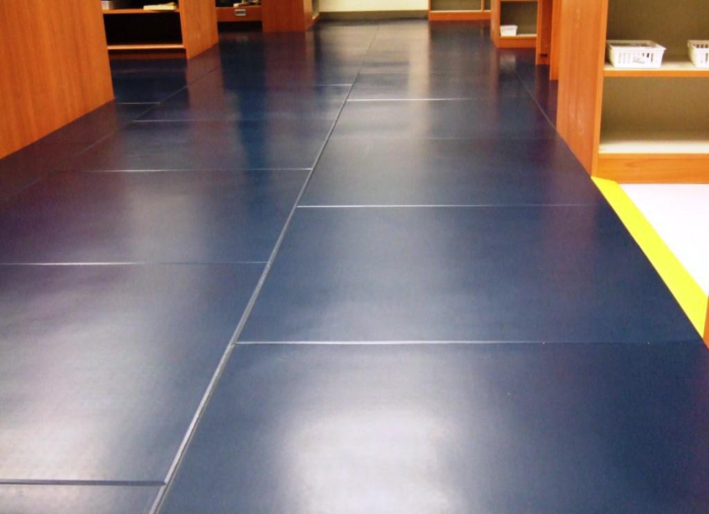 Image of: Revolution Interlocking Flooring Tiles