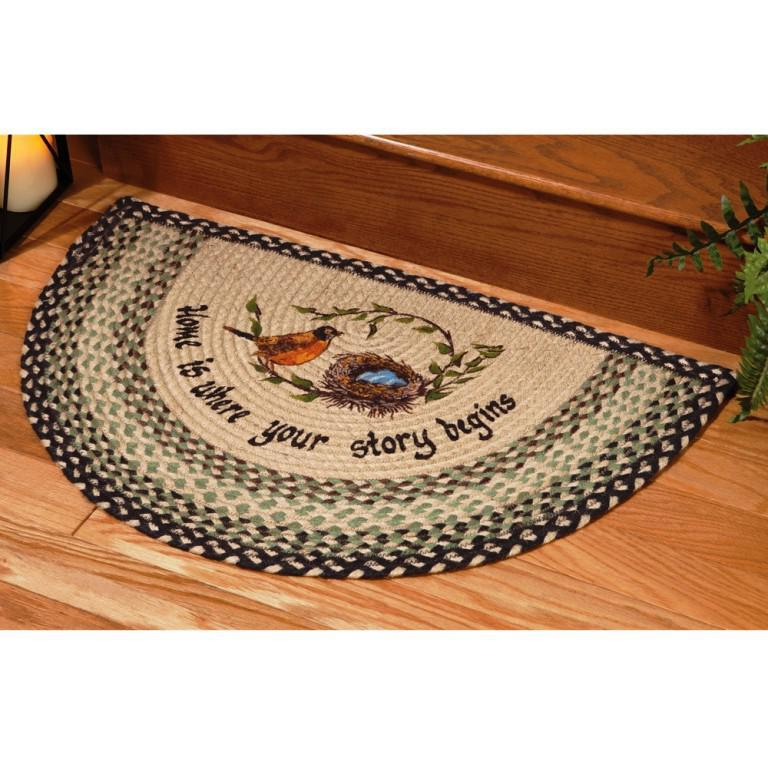 Image of: Rustic Hearth Rugs