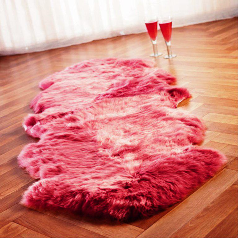 Image of: Sheepskin Rug IKEA
