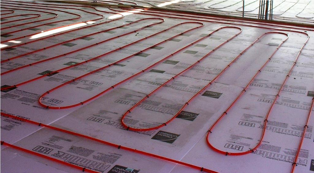 Image of: Solar Radiant Floor Heating