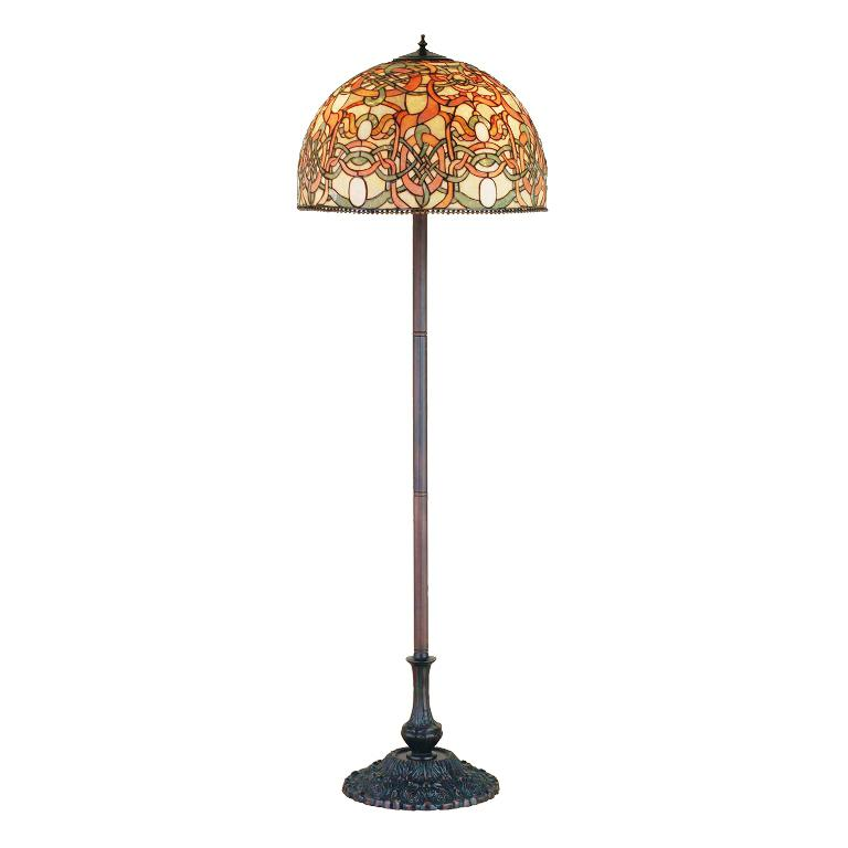 Image of: Stained Glass Floor Lamps