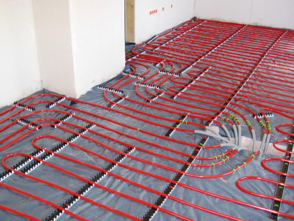 Image of: Thermal Floor Heating Systems