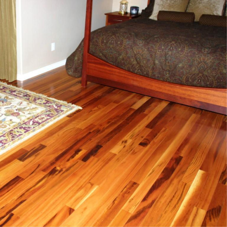 Image of: Tigerwood Engineered Flooring