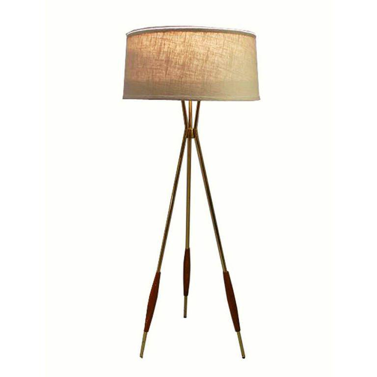 Image of: Tripod Floor Lamp Overstock
