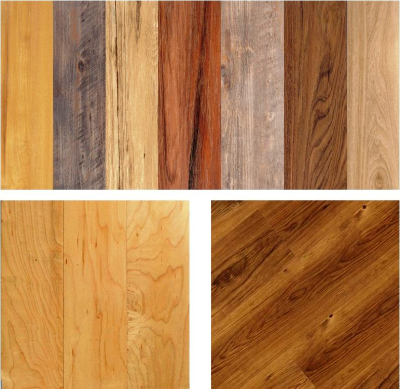 Image of: Vinyl Wood Plank Flooring Lowes