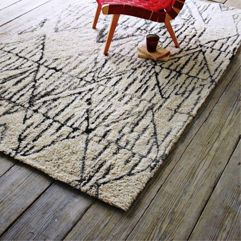 Image of: West Elm Snow Peak Rugs