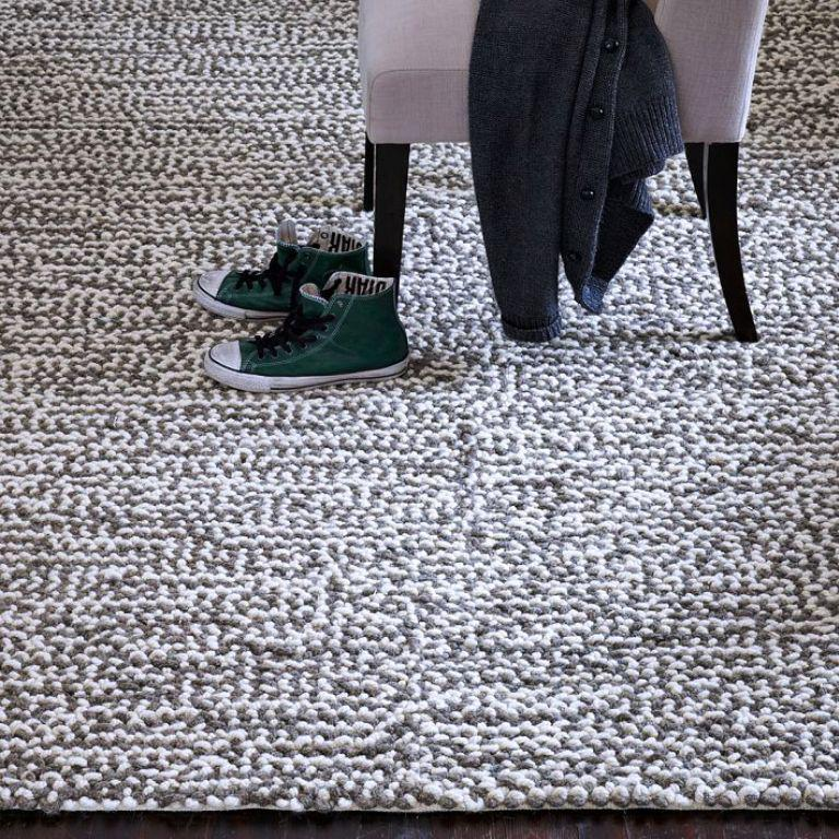 Image of: West Elm Sweater Rug