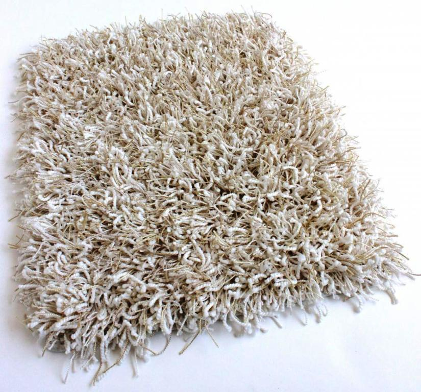 Image of: White Fluffy Shag Area Rugs