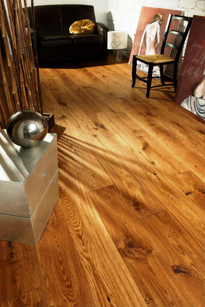 Image of: Wide Plank Oak Flooring