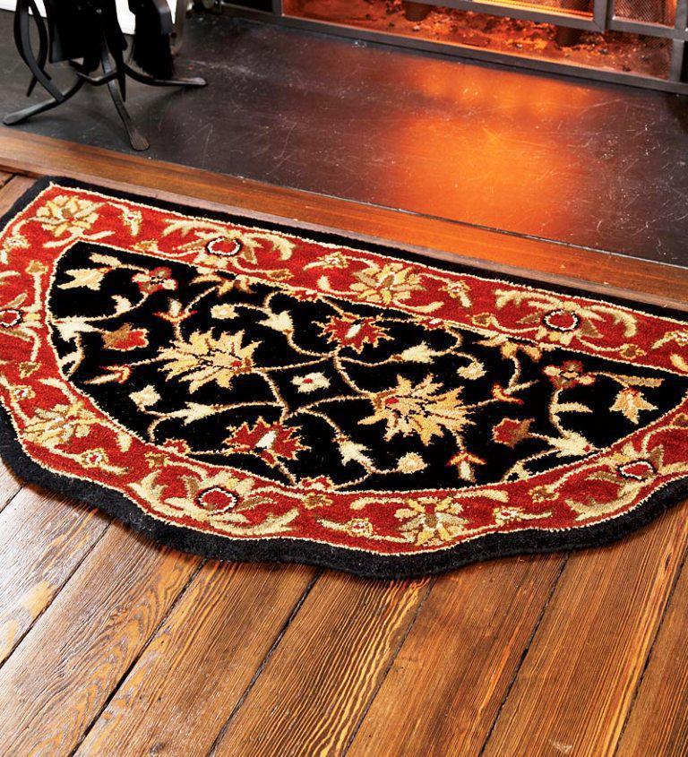 Image of: Wool Hearth Rugs