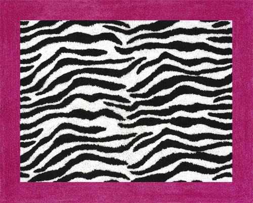Image of: Zebra Print Area Rug