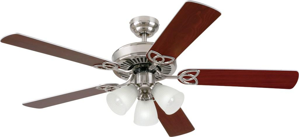 Image of: Amazon Brushed Nickel Ceiling Fan
