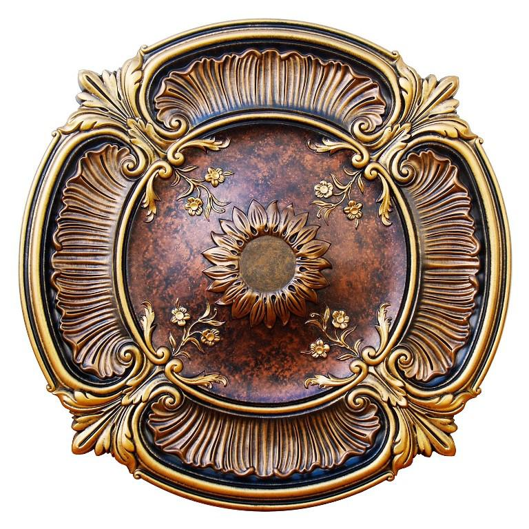 Image of: Art Deco Ceiling Medallion