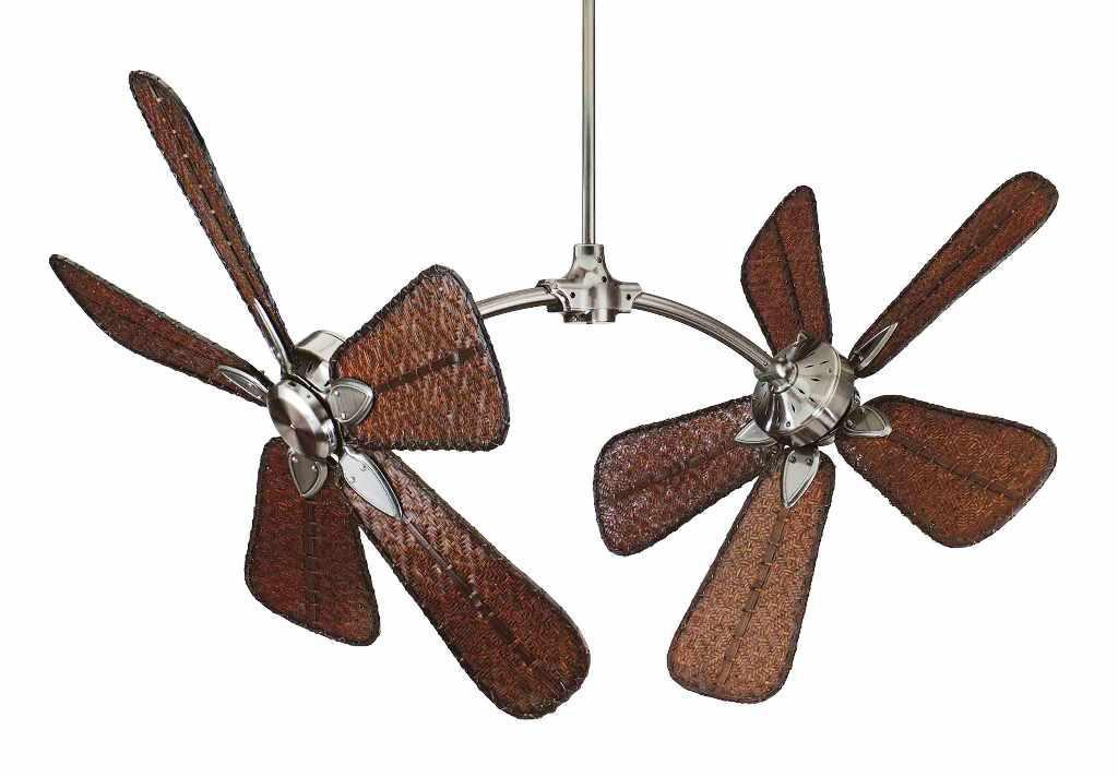 Image of: Bamboo Ceiling Fan