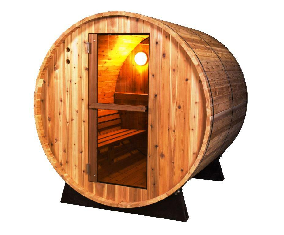 Image of: Barrel Sauna Kit