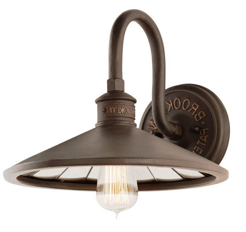 Image of: Bronze Outdoor Wall Sconce