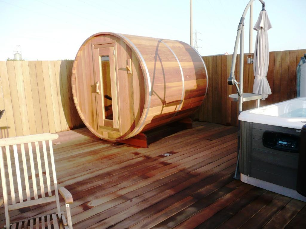 Image of: Build Your Own Barrel Sauna