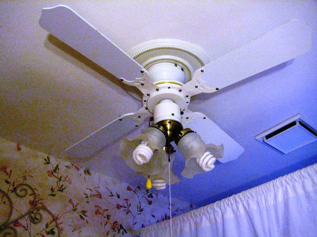 Image of: Ceiling Fan Chandelier