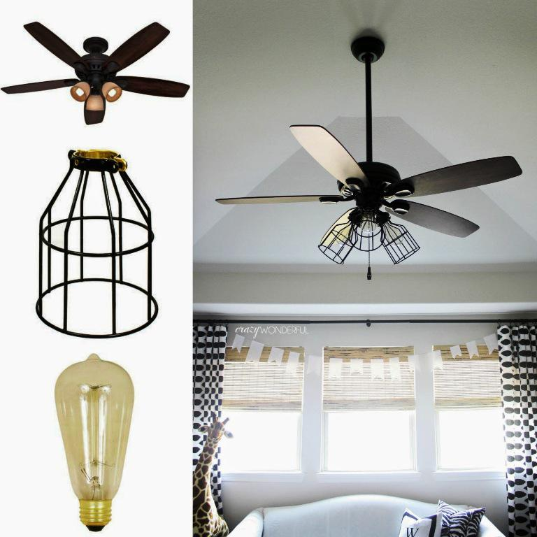 Image of: Ceiling Fan Light Cover