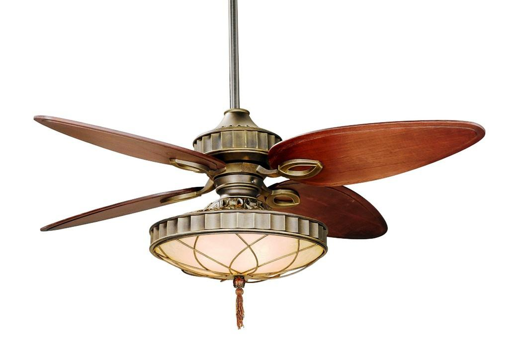 Image of: Ceiling Fan with Chandelier Light