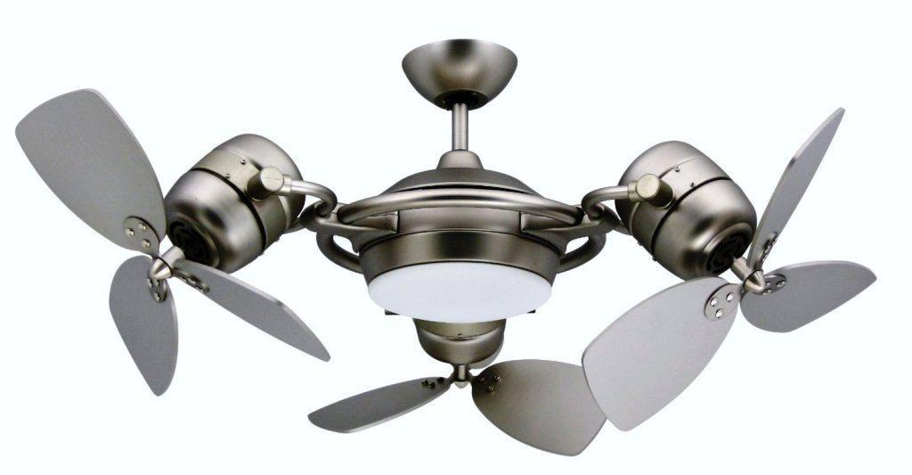 Image of: Ceiling Fans With Lights Flush Mount