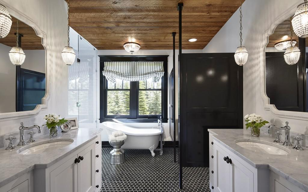Image of: Ceiling Planks For Bathrooms