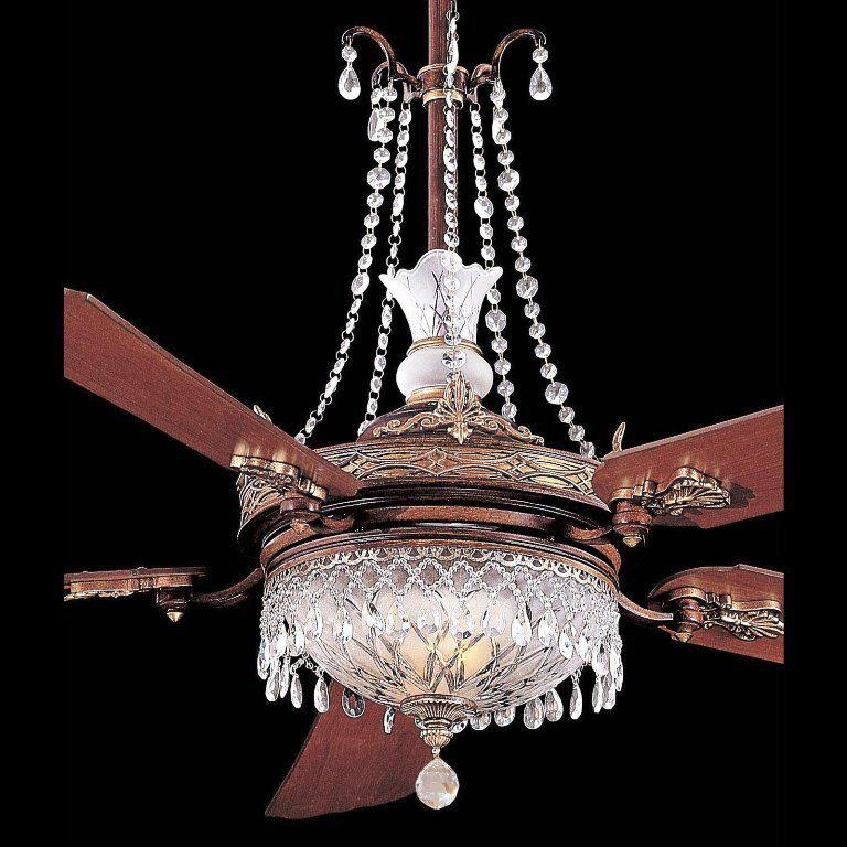 Image of: Chandelier Light Kit For Ceiling Fan