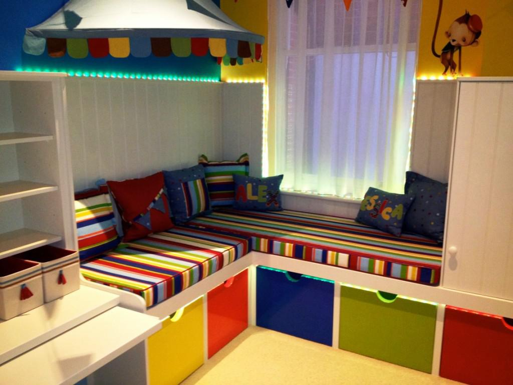 Image of: Cool Playroom Furniture